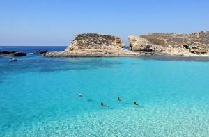 Malta-plaj-deniz