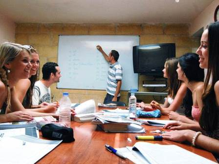 Sprachcaffe Malta Sınıf