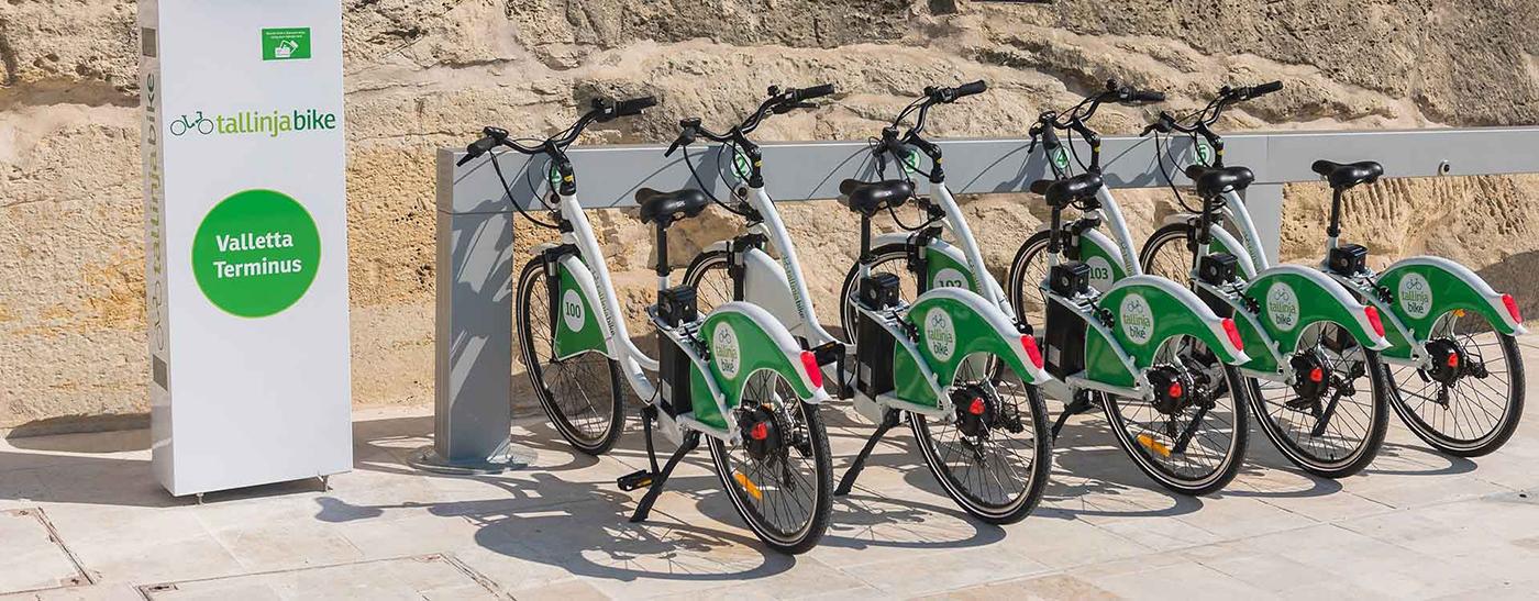 Malta bisiklet kiralamak ya da satın alarak eğitim boyunca kullanmak mümkündür.