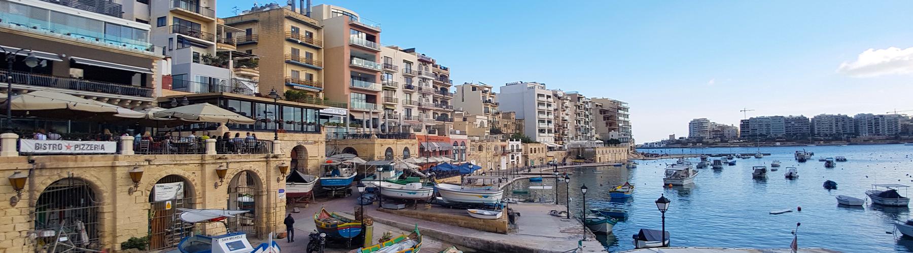 Malta St Julian's dil eğitimi için seçilebilecek en güzel şehirdir. Tüm diğer aktivite ve sosyal imkanlar da buradadır.